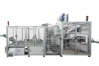 Multipurpose machine for cutting, capping and labelling tubes