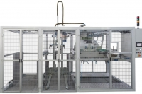 Automatic palletiser table for flat sheets